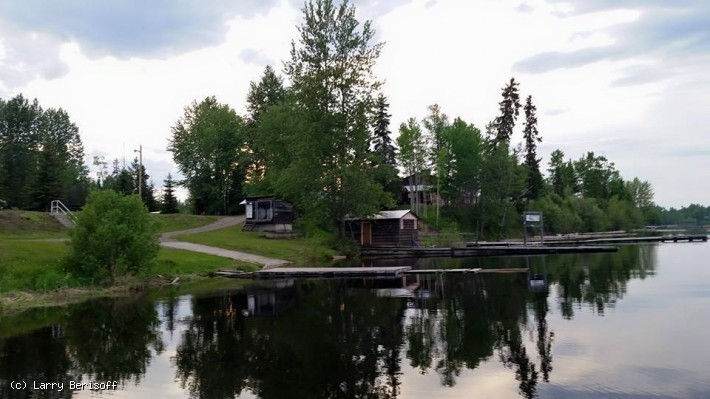 Waterfront Cabins and Camping